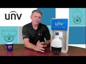 Unboxing: Uniview Mini PTZ IPC672 with Active Deterrence